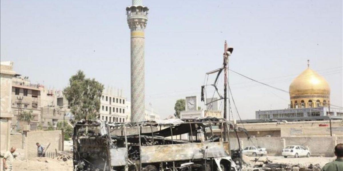 Mueren decenas de personas en una nueva jornada de bombardeos y choques en Siria