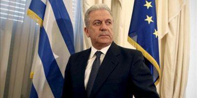 El recién nombrado ministro de Asuntos Exteriores de Grecia, Dimitris Avramópulos. EFE