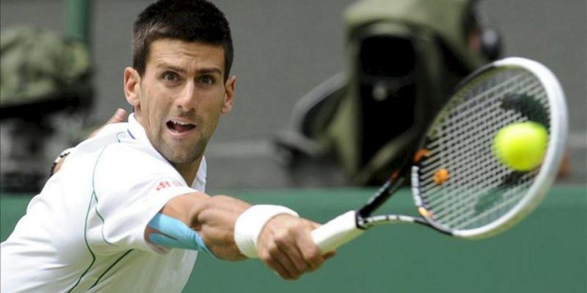 Djokovic sólo cede siete juegos ante Ferrero en la primera ronda