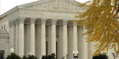 Vista exterior del Tribunal Supremo en Washington DC. EFE/Archivo