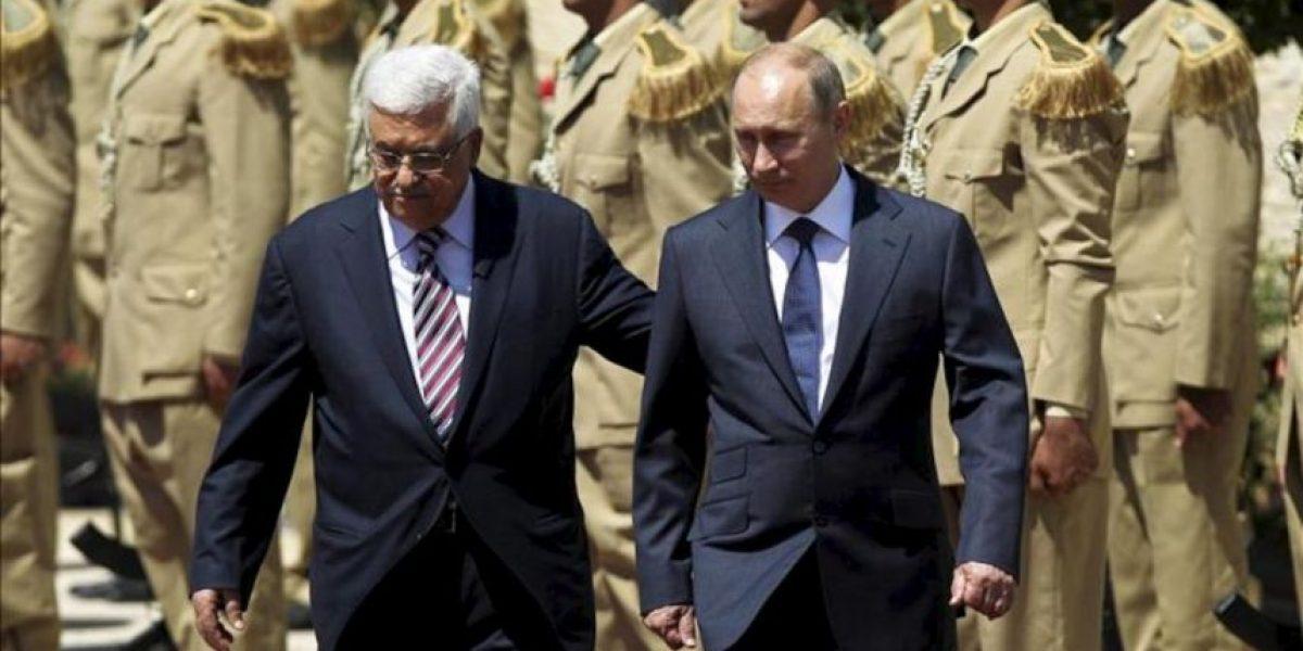 Putin reitera a Abás que Rusia no tiene problema en reconocer un Estado palestino
