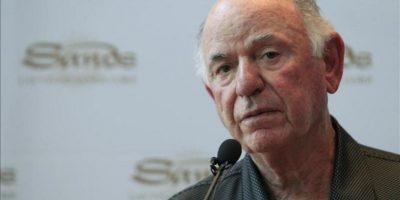 El director general de Las Vegas Sands , Michael Leven, durante la rueda de prensa que ha ofrecido en Madrid. EFE