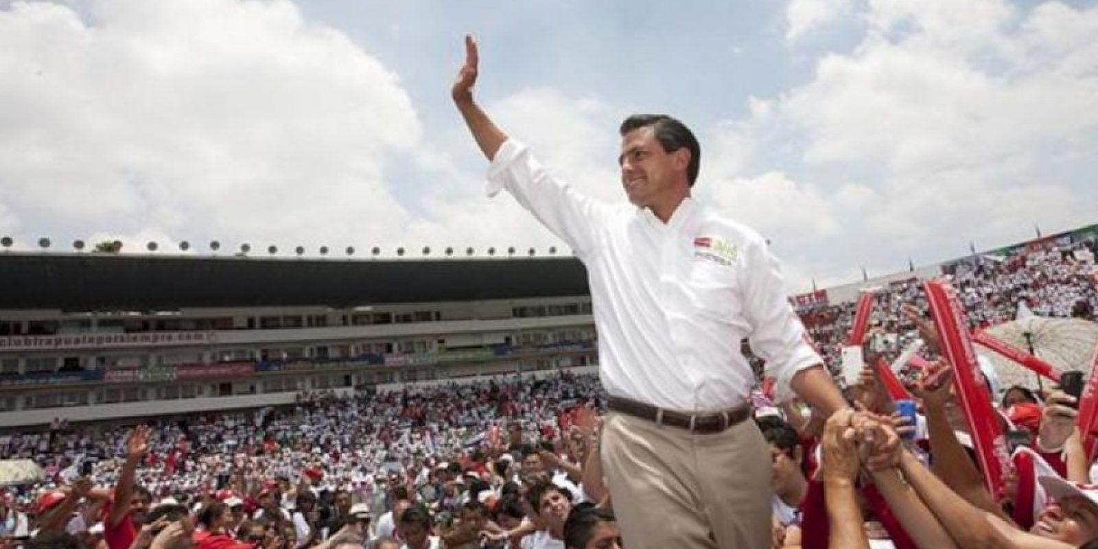 El candidato a la presidencia de México, por el Partido Revolucionario Institucional (PRI), Enrique Peña Nieto. EFE/Archivo