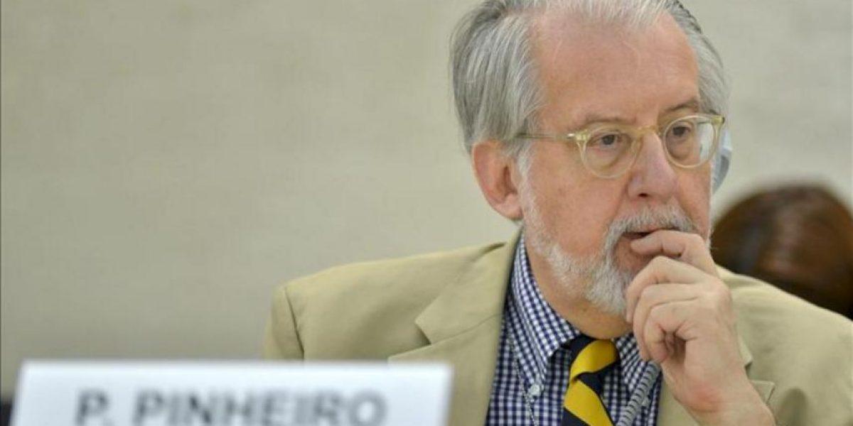 La Comisión de la ONU admite que hay una guerra civil en algunas zonas de Siria