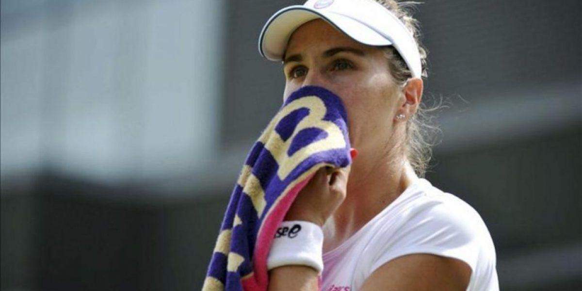 María José Martínez cae ante Ivanovic en la primera ronda