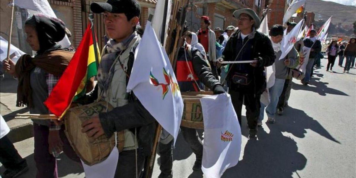 Indígenas llegan otra vez a La Paz para defender ante Morales la reserva natural