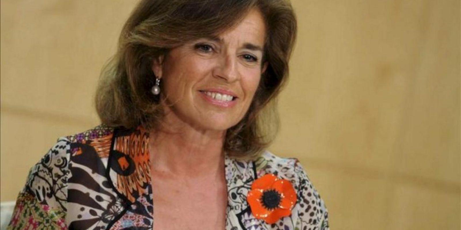 Fotografía facilitada por el Ayuntamiento de Madrid de la alcaldesa, Ana Botella. EFE/Archivo