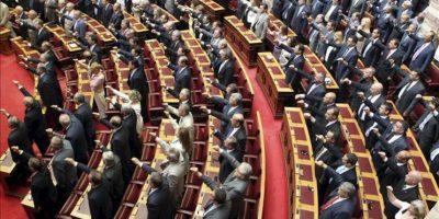 Vista general de los diputados del nuevo Parlamento griego, salido de las elecciones del pasado día 17 de junio. EFE