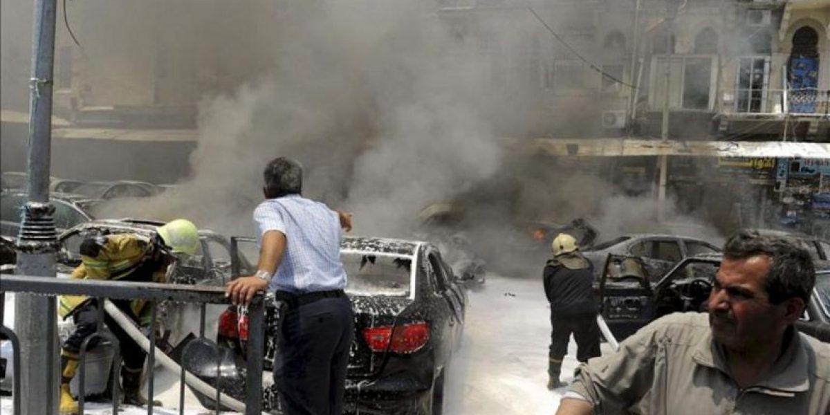 Más de 30 muertos en bombardeos y ataques armados en la periferia de Damasco