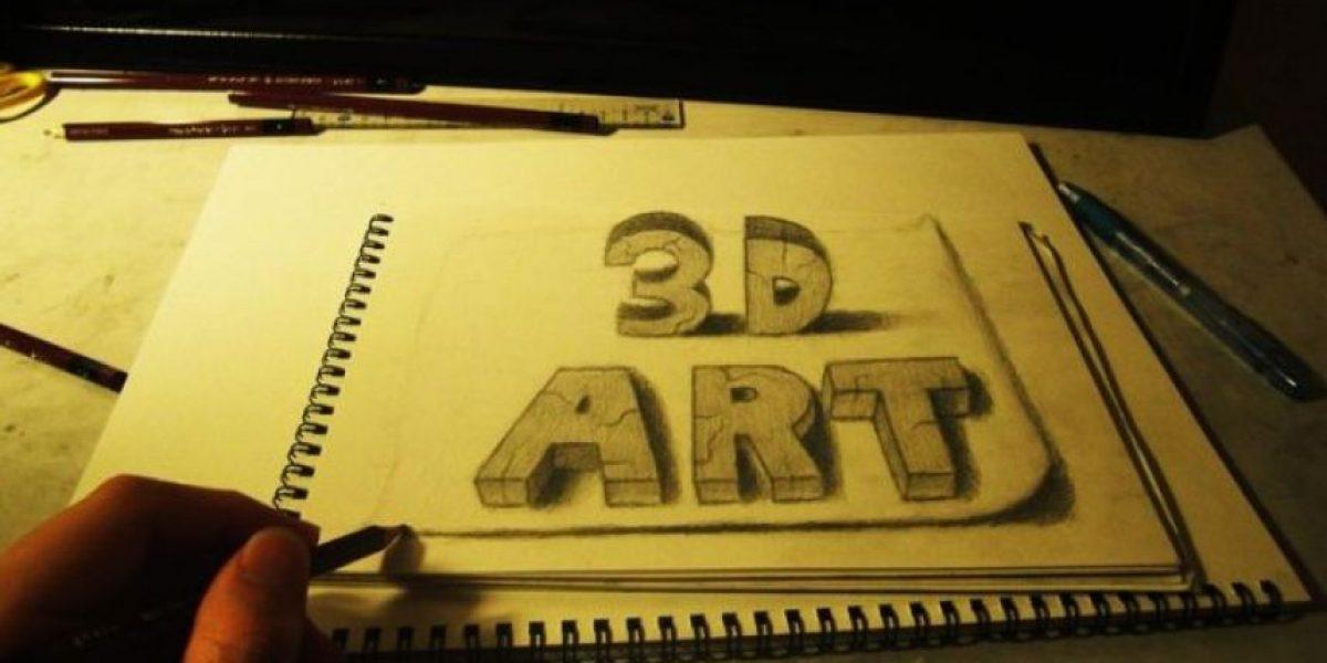 [Galería] Impresionantes dibujos en 3D