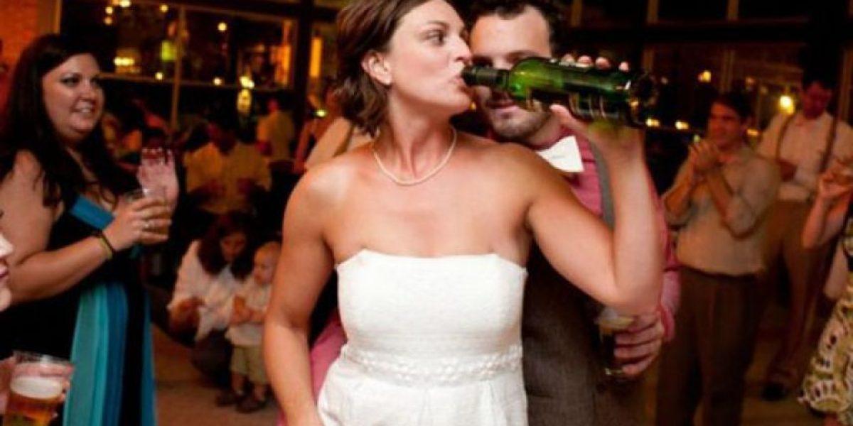 [Galería] 25 novias que se pasaron de copas