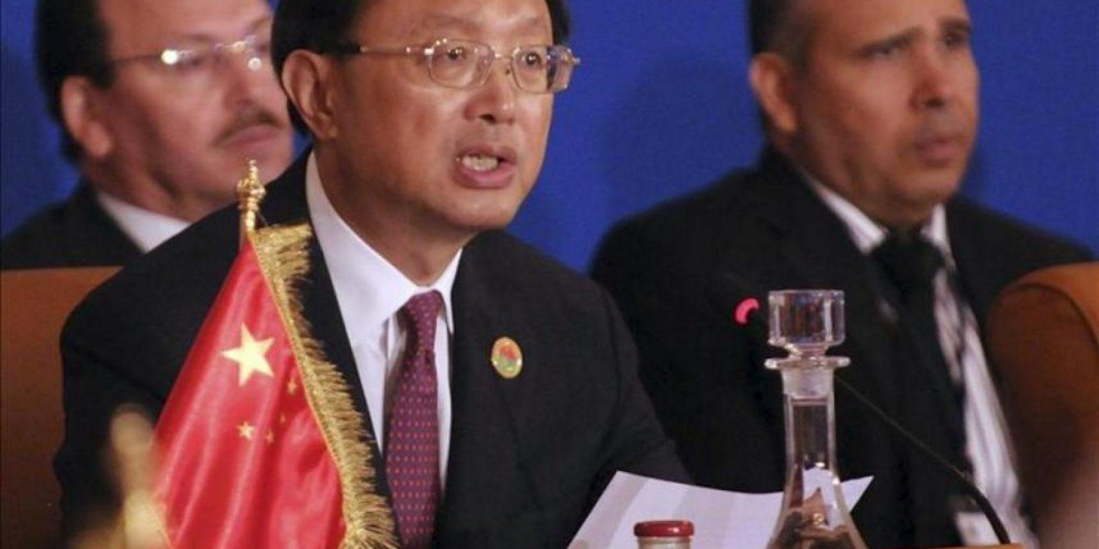 El ministro chino de Exteriores, Yang Jiechi. EFE/Archivo
