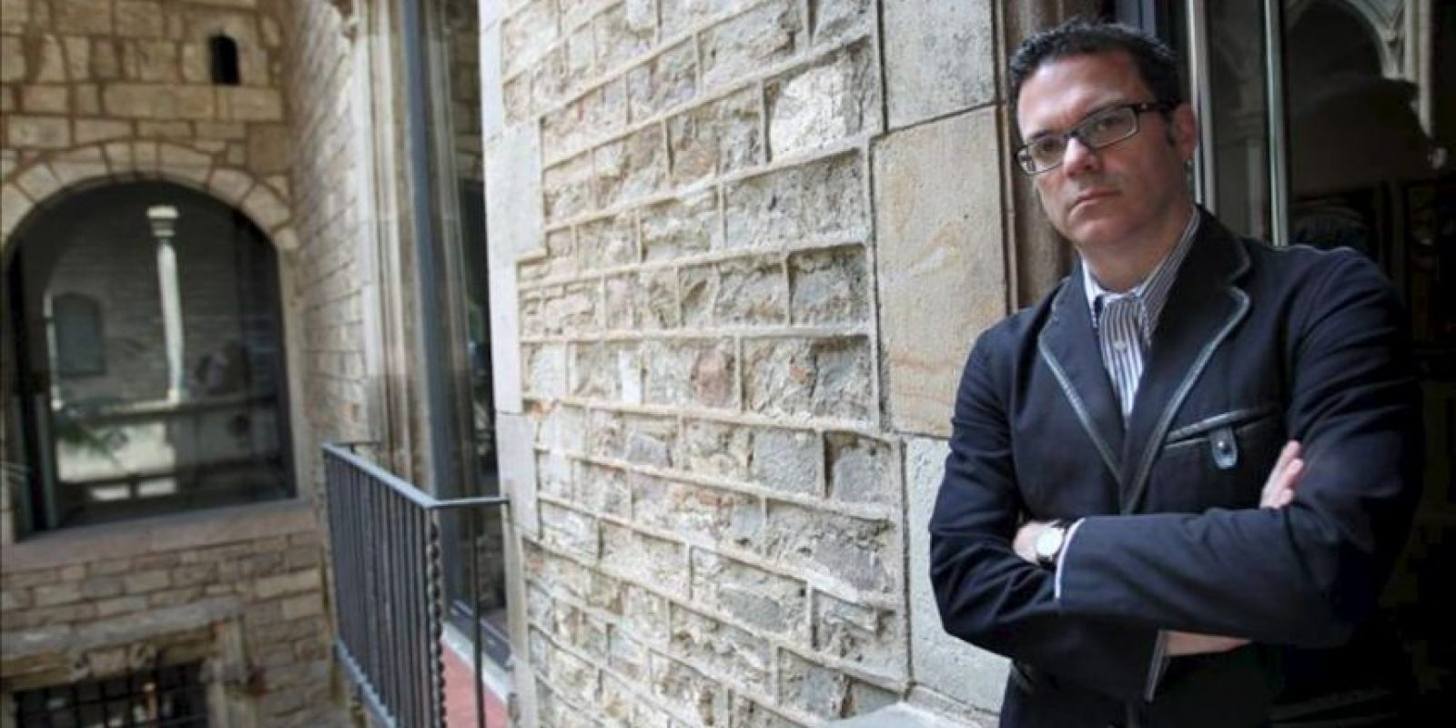 """El ecuatoriano Bernardo Laniado-Romero director del Museo Picasso de Barcelona posa durante la entrevista que mantuvo con EFE en la que defiende la vigencia del pintor en muchos artistas plásticos de hoy y asevera que tiene una gran presencia intelectual, """"nada irrelevante"""", entre ellos. EFE"""