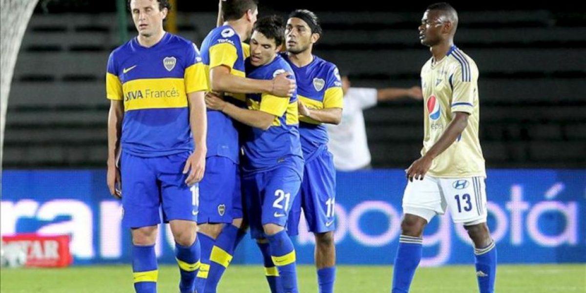 1-2. Chávez y Erviti firman el triunfo de Boca sobre Millonarios en Bogotá