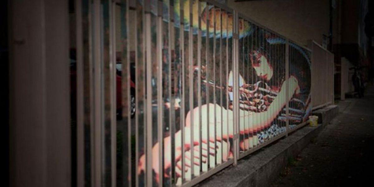 [Galería] Arte en las barandas de la calle