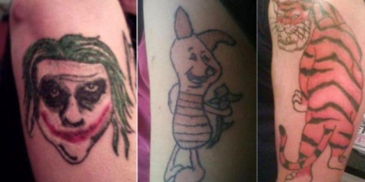 [Galería] Los tatuajes más feos de la historia