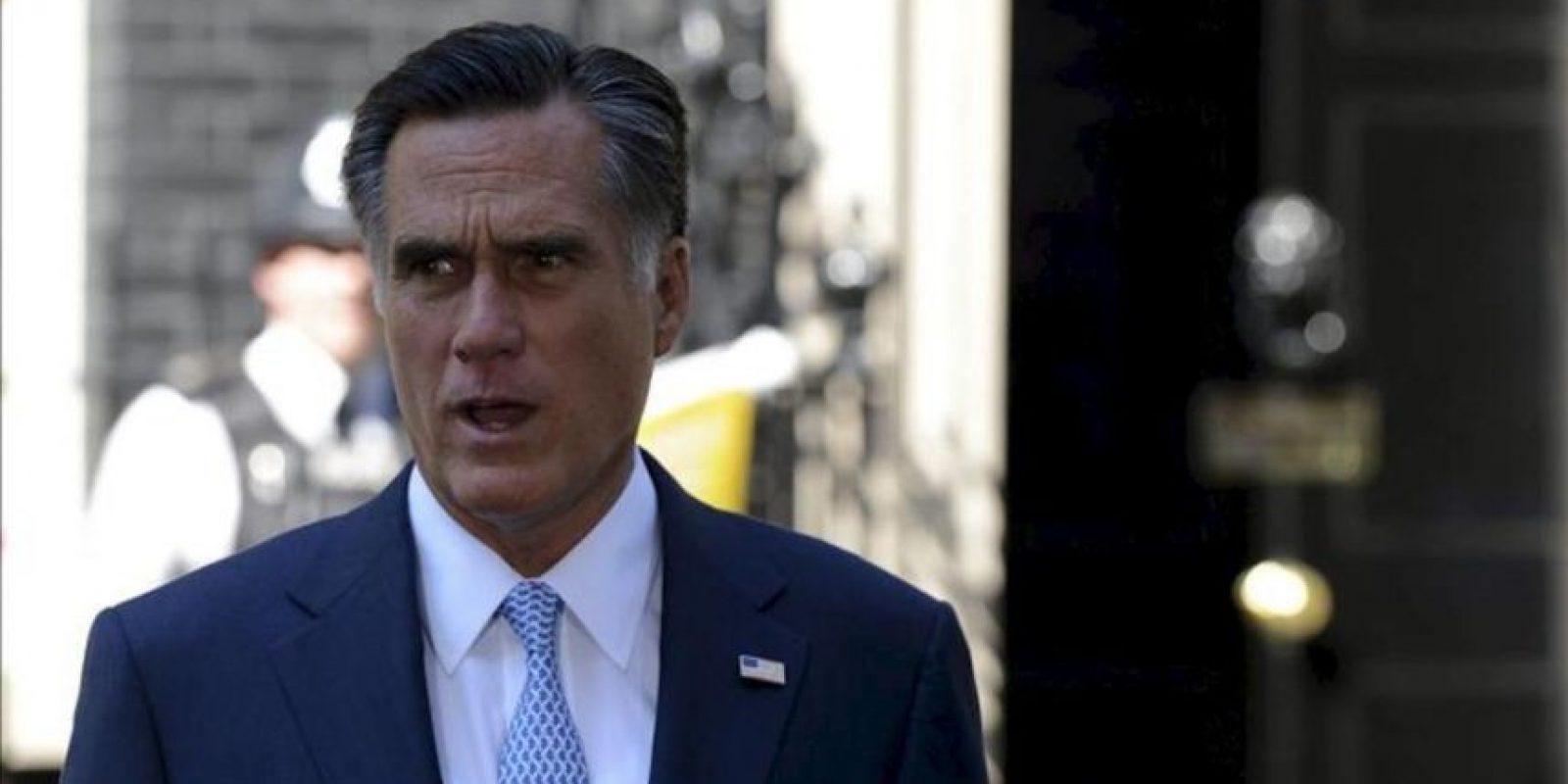 El candidato republicano a la presidencia de Estados Unidos, Mitt Romney. EFE/Archivo