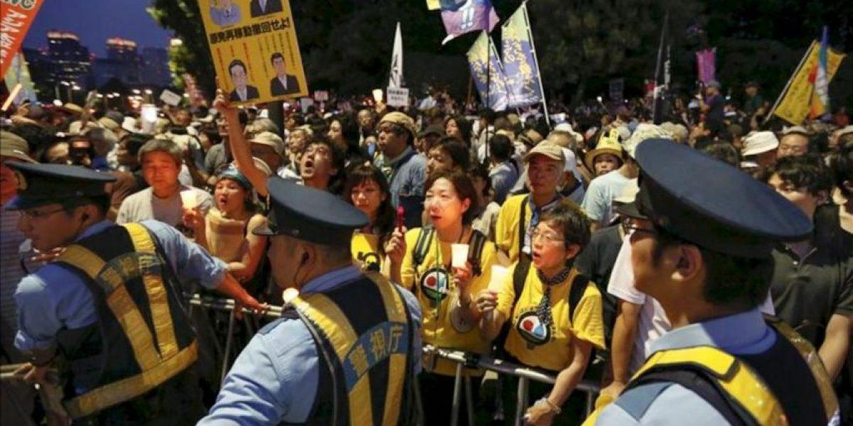 Miles de personas piden ante el Parlamento el fin de las nucleares en Japón