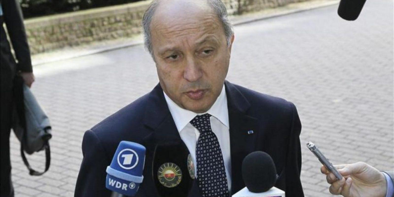 El ministro francés de Asuntos Exteriores, Laurent Fabius. EFE/Archivo