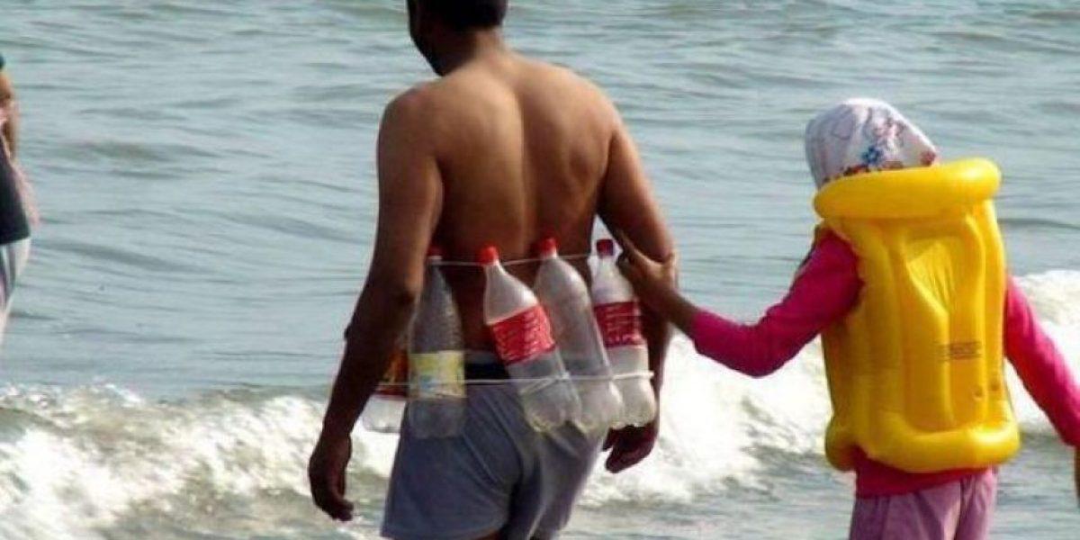 [Galería] Extraños momentos en la playa