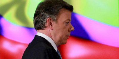 El presidente de Colombia, Juan Manuel Santos. EFE