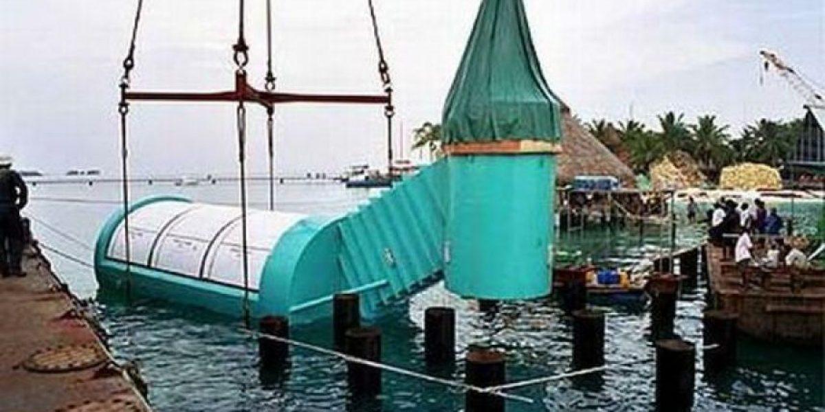 [Galería] Espectacular restaurante submarino
