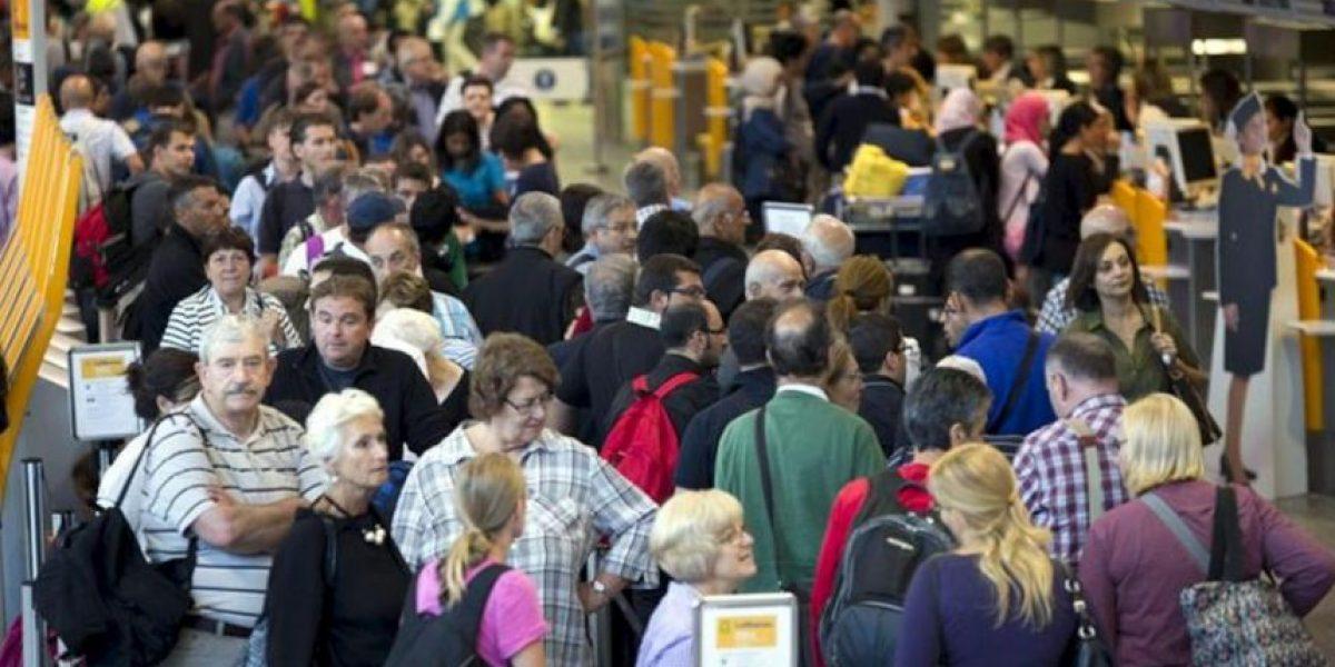 La huelga del personal de cabina de Lufthansa genera el caos en Fráncfort