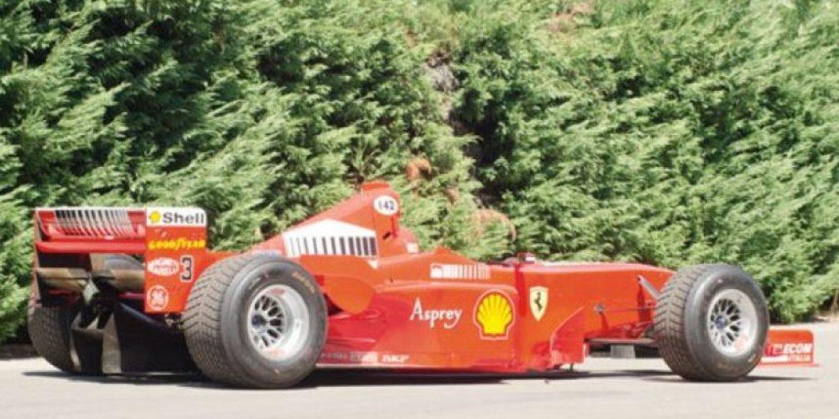 [Galería] El Ferrari de Michael Schumacher que está en subasta