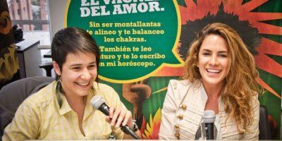 Naty Botero entretuvo a sus muchos seguidores con una charla en nuestra tuitcam Foto:Carlos Hernández Llamas