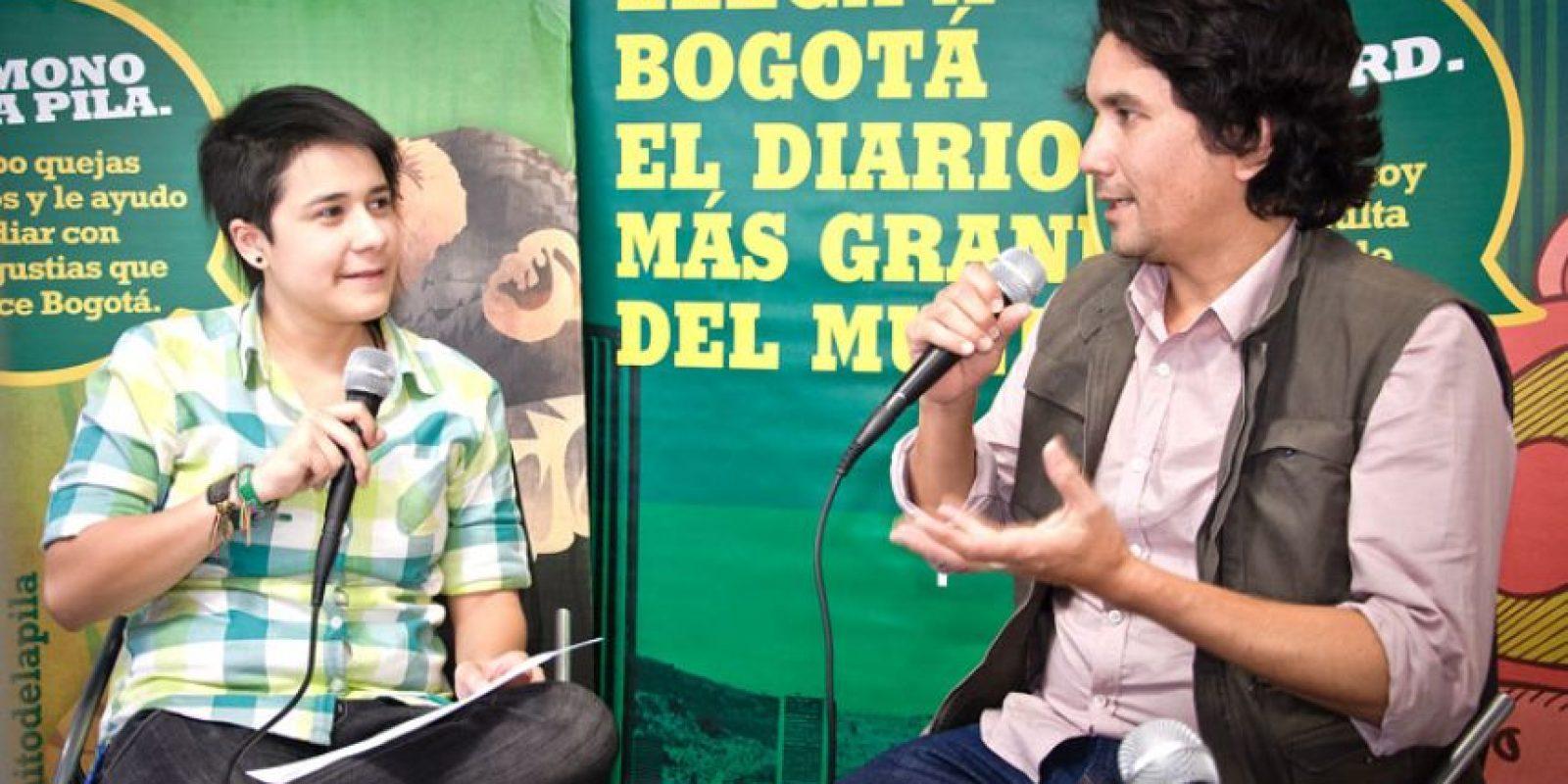 Jorge Villamizar les habló a sus tuiteros sobre Bacilos y vino a revelar 'Todo lo que quieres es bailar' Foto:Carlos Hernández Llamas
