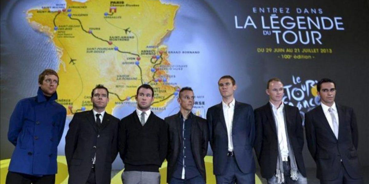 Un Tour montañoso para celebrar las cien ediciones y olvidar a Armstrong
