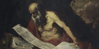 """Reproducción cedida por Galleria Nazionale d'Arte Antica di Palazzo Barberini, de la obra """"San Jerónimo"""" (1652), del pintor holandés Hendrick van Somer (1615-1684/85). EFE"""