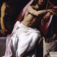 """Reproducción cedida por la Galería Borghese, de la obra """"Ecce homo"""" (1606), del pintor italiano Giovanni Baglione (1566-1643). EFE"""