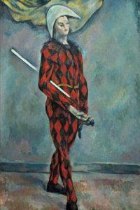 """Imagen facilitada por el Museo de Bellas Artes de Budapest (Hungría) del """"Arlequin"""", de Paul Cézanne, que forma parte de la exposición """"Cézanne y el pasado"""". EFE"""