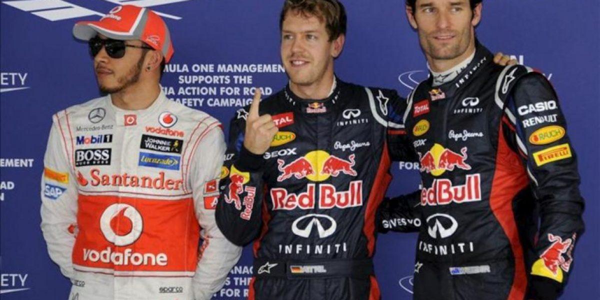 Vettel consigue una nueva