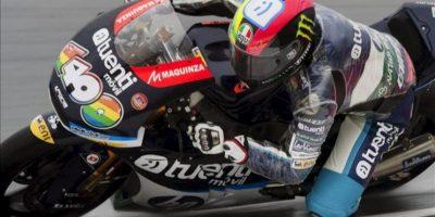El piloto español de Moto2 Pol Espargaró, de Kalex. EFE/Archivo