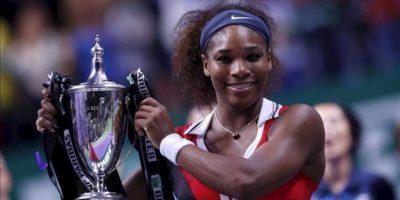 Serena Williams levanta su tercer Masters. EFE