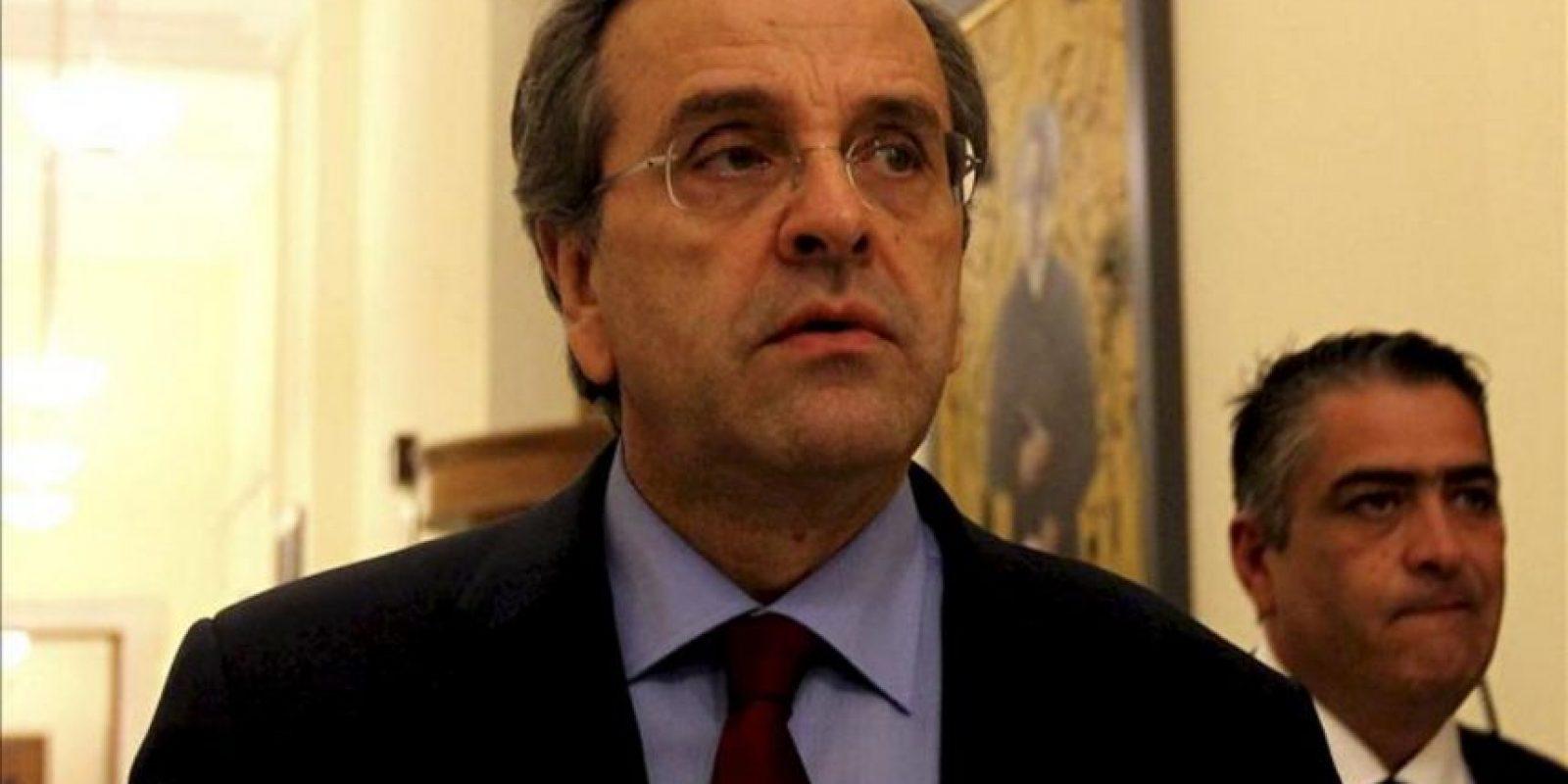 El primer ministro griego, Antonis Samaras. EFE/Archivo