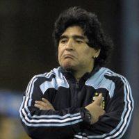 Como técnico de la Selección Argentina no tuvo mucho éxito. Estuvo en el cargo del 2008-2010 y disputó 19 partidos. Foto:AFP