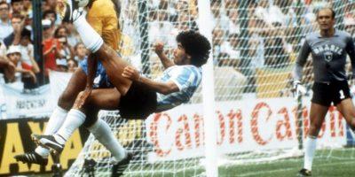 El zurdo más famoso del fútbol anotó 352 goles, 34 de ellos con la selección. Foto:AFP