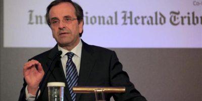 El primer ministro griego, Andonis Samaras. EFE/Archivo