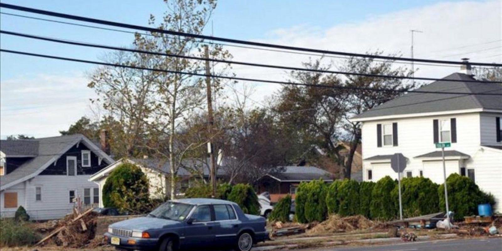 Fotografía tomada este miércoles de una calle de la ciudad de Atlatic City en Nueva Jersey. EFE
