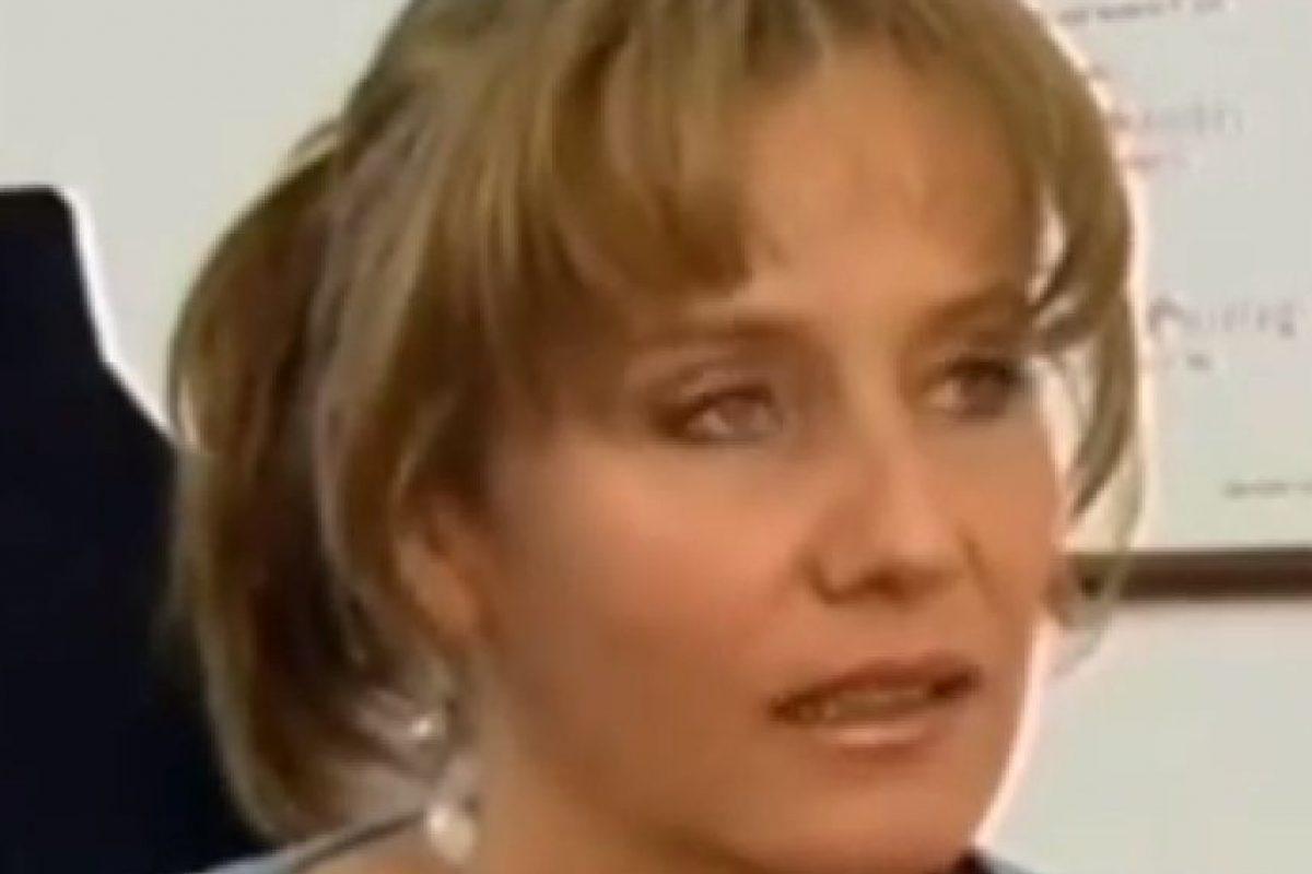 Alejandra Borrero en 'El último matrimonio feliz' Foto:captura youtube