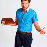 El actor Mario Espitia en su papel de Teto Tello. Foto:caracoltv.com