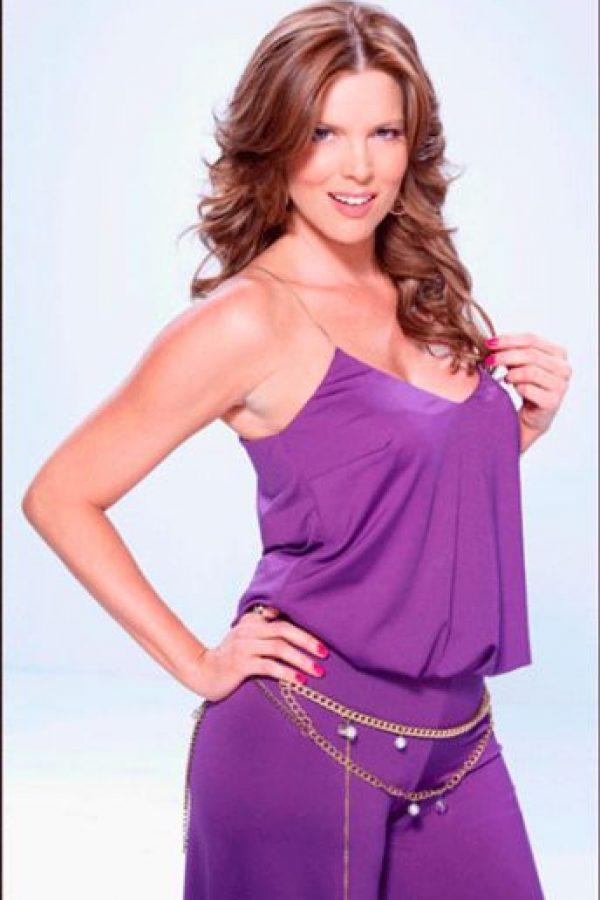 La actriz Maritza Rodríguez en su papel de Martha Mónica Camargo. Foto:caracoltv.com