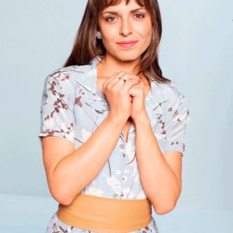La actriz Camila Zárate en su papel de Luisa Foto:caracoltv.com