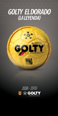 Golty El Dorado (La Leyenda), el favoritdo de los jugadores pero enemigo de los arqueros por la velocidad en la cancha. Foto:Golty