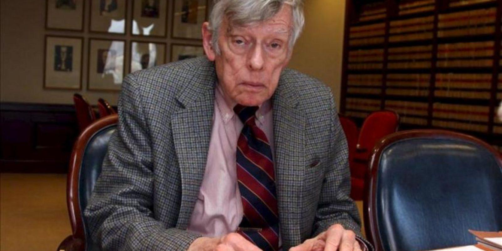 En la imagen, el juez federal en Nueva York Thomas Griesa. EFE/Archivo