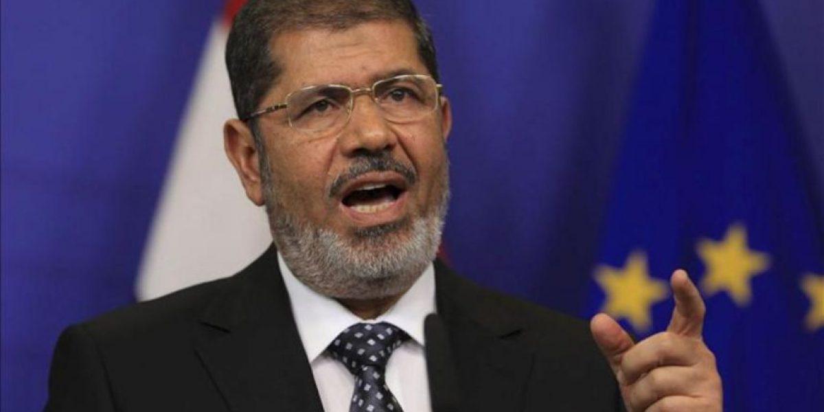 Mursi dice que sólo usará sus poderes excepcionales si ve al país en peligro