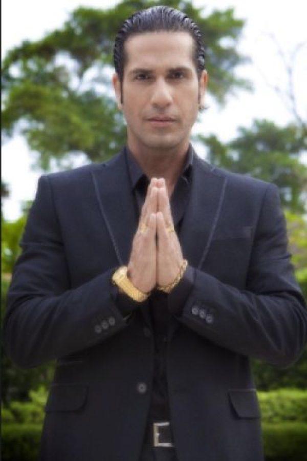 El actor Gregorio Pernía, causó gran polémica, al liderar una campaña en contra de Jota Mario Valencia. Foto:twitter.com